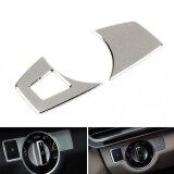 ความคิดเห็น Areyourshop Headlight Switch Button Cover Trim For Benz C Class W205 2014 2017 Silver Intl