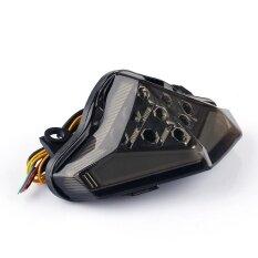 ราคา Areyourshop Integrated Led Taillight เปลี่ยนสัญญาณสำหรับ Kawasaki Er 6 N F 2012 2014 ควัน ใหม่ล่าสุด