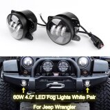 Areyourshop Pair 4 Inch 30W Cree Led Fog Light Driving Lamp For 2007 2016 For Jeep Wrangler Jk Intl จีน
