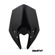 ขาย แว่นตากันแดด Areyourshop Windscreen สำหรับ Kawasaki Z800 2013 2014 ดำ นานาชาติ Areyourshop เป็นต้นฉบับ