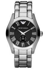 ราคา Armani นาฬิกาข้อมือผู้ชาย สายสแตนเลส รุ่น Ar0680 Silver Armani