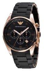 ส่วนลด Armani นาฬิกาข้อมือผู้ชาย รุ่น Ar5905 สายสแตนเลสสีดำ Armani ใน กรุงเทพมหานคร