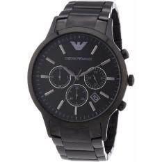 โปรโมชั่น Armani Classic Chronograph Stainless Steel Black Men S Watch Ar2453