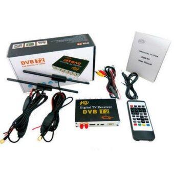 Astro กล่องรับสัญญาณ DVB-T2 HD TV digital ติดรถยนต์ รุ่นสองเสา (สีดำ)