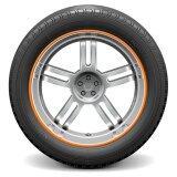 โปรโมชั่น Auto Car Wheel Hub Rim Edge Rubber Strip Orange Intl ใน จีน