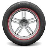Auto Car Wheel Hub Rim Edge Rubber Strip Rose Intl ถูก