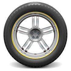 ราคา Auto Car Wheel Hub Rim Edge Rubber Strip Yellow Intl ใน จีน