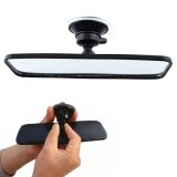 ซื้อ Auto Fan 200Mm Wide Angle Flat Car Care Truck Interior Rearview Rear View Mirror Suction Intl ถูก