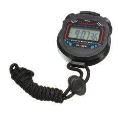 ขาย Autoleader Digital Handheld Lcd Chronograph Timer Sports Stopwatch Counter Stop Watch Alarm Intl ใน Thailand