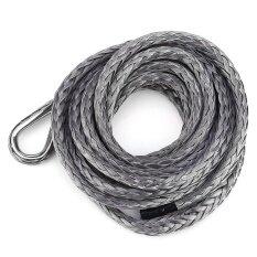Automobile Winch Rope 3 16 Inch 10 Feet Standard 5600Lbs Breaking Strength 22 5Cm Protective Sheath Intl จีน