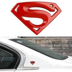 ราคา Automotive Car Styling Large Metal 3D 3M Superman Logo Badge Motorcycle Stickers Emblem Accessories Intl Unbranded Generic ใหม่