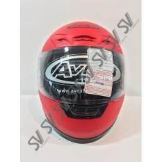 ขาย ซื้อ หมวกกันน็อค Avex เต็บใบ สีแดงด้าน ของแท้จากศูนย์ฮอนด้า กรุงเทพมหานคร