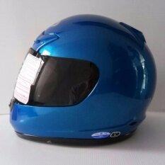 ราคา Avex หมวกกันน็อคเต็มใบ รุ่นDx ล้วน สีนำ้เงินบรอนส์ แว่นดำ Avex
