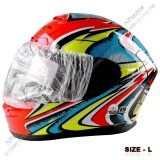 ซื้อ Avex Plus หมวกกันน๊อค ลาย X12 Daijiro หน้ากากดำ Size L 59 60Cm ถูก