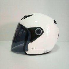 ขาย Avex หมวกกันน็อคเต็มใบ รุ่น Scorpion สีขาวเงา แว่นดำ Avex ถูก