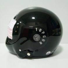 ขาย Avex หมวกกันน็อคเต็มใบ รุ่น Topgun สีดำเงา แว่นดำ Avex