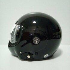 ส่วนลด Avex หมวกกันน็อคเต็มใบ รุ่น Topgun ล้วนไม่มีลาย สีดำเงา แว่นดำ กรุงเทพมหานคร