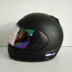โปรโมชั่น Avex หมวกกันน็อคเต็มใบ รุ่นXr ล้วน สีดำด้าน แว่นปรอทรุ้ง