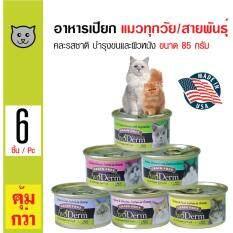 Avoderm อาหารแมวชนิดเปียก คละรสชาติ บำรุงขนและผิวหนัง เหมาะสำหรับแมวทุกวัย ขนาด 85 กรัม x 6 กระป๋อง