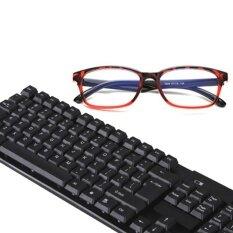 B2K แว่นตากรองแสง แว่นกันแสงคอมพิวเตอร์ แว่นตัดแสงคอมพิวเตอร์ แว่นถนอมสายตา เลนส์ถนอมสายตา กรอบแว่นแฟชั่นเกาหลี พร้อมกล่องใส่ และผ้าเช็ดเลนส์ ใหม่ล่าสุด