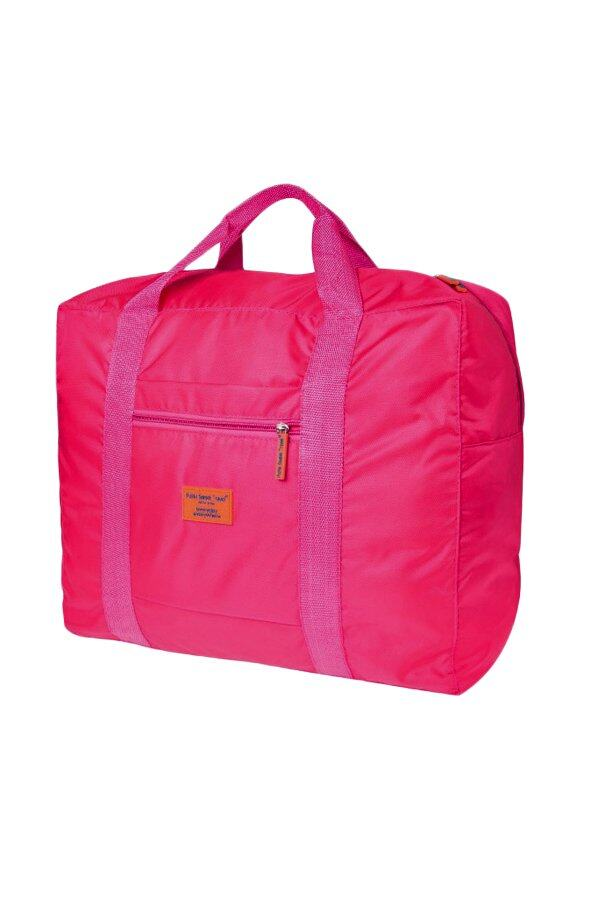 BAG IN BAG Waterproof  Foldable Travel Bag  ( Hot Pink)