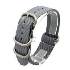 ขาย B G สายนาฬิกา สายในล่อน สายนาโต้ สายซูลู ขนาด 22Mm หูสายสีเงิน Unbranded Generic เป็นต้นฉบับ