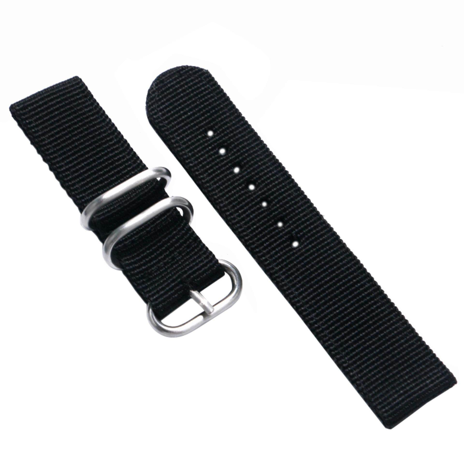 B&G Nylon Zulu Watch Band Strap Nato With Spring Bar 22mm and Tool