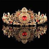 ราคา Baroque Gold Bridal Tiara Crystal Prom Pegeant Crown Headband Hair Accessories Gold Intl Unbranded Generic