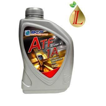 น้ำมันเกียร์อัตโนมัติ และพวงมาลัยเพาเวอร์ BCP (บางจาก) ATF 1A DEXRON III ขนาด 1 ลิตร