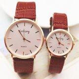 ราคา Beauty Watch นาฬิกาคู่ นาฬิกาข้อมือ นาฬิกาแฟชั่น Couple Watch สายหนัง รุ่น W 007 สีน้ำตาล ออนไลน์ กรุงเทพมหานคร