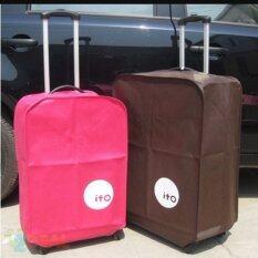 ซื้อ Beckycat ผ้าคลุมกระเป๋าเดินทาง Size 24 สีชมพู กรุงเทพมหานคร