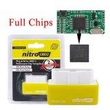 คุณภาพดีที่สุด Nitroobd2 Performance Chip Tuning Box สำหรับรถเบนซีน Nitro Obd2 Plug Drive Auto Ecu Remap Obdii เป็นต้นฉบับ