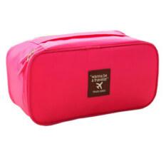 ซื้อ Best Travel Bag Packing Organizers Bra Underwear Storage Bag กระเป๋าเก็บของใช้ส่วนตัวและชุดชั้นใน Red