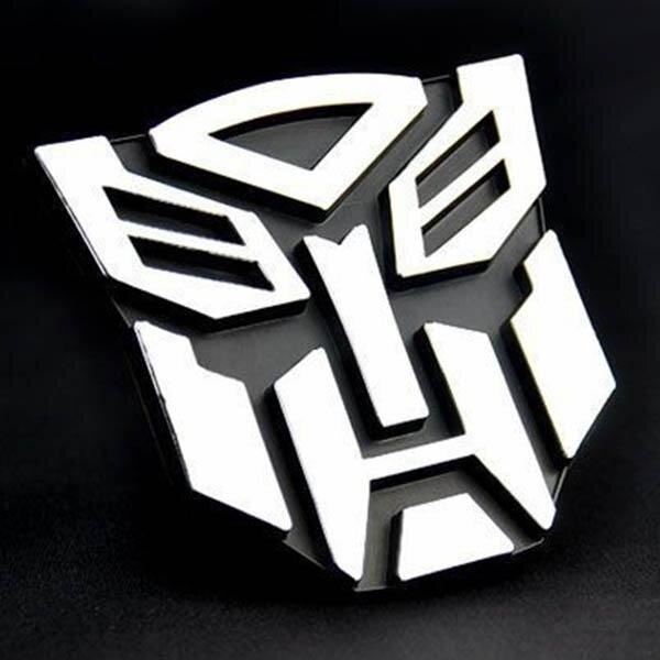 การตรวจสอบของ Bestprice Professional Auto Parts 3D Decal Autobot Rear Banner Transformers Auto Car Sticker Emblem Cool - intl discount