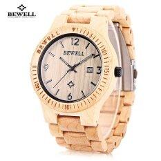 ขาย Bewell Zs W086B ไม้นาฬิกาผู้ชายแอนะล็อกควอตซ์วันที่แสดงนาฬิกาข้อมือ ใน จีน