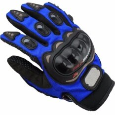 ซื้อ ถุงมือบิ๊กไบ้ค์ Big Bike ถุงมือมอเตอร์ไซค์ ถุงมือขับรถ การ์ดคาร์บอน Size Xxl Blue ออนไลน์ ไทย
