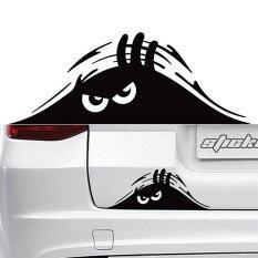 โปรโมชั่น Black Monster สติ๊กเกอร์ สไตล์ขบขัน สำหรับติดท้ายรถยนต์ Black Unbranded Generic