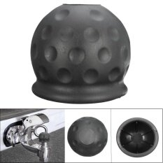 ขาย Black Plastic Tow Bar Ball Cover Cap Car Towing Hitch Caravan Trailer Towball Protect Intl Unbranded Generic ถูก