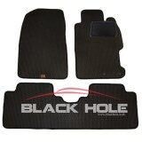 โปรโมชั่น Blackhole Carmat พรมรถยนต์เข้ารูป 2 ชั้น Honda Civic Dimension 2000 2004 Black Rubber Pad รุ่น Jhocvkbr สีดำ