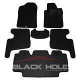 ราคา ราคาถูกที่สุด Blackhole Carmat พรมรถยนต์เข้ารูป 2 ชั้น Toyota Avanza 2009 2011 Black Rubber Pad รุ่น Jtoavtbr สีดำ