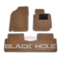 ราคา Blackhole Carmatพรมรถยนต์เข้ารูป2ชั้น ขอบลายใหม่ Toyota Altis 2008 2013 Beige Rubber Pad รุ่น Nfjtoalscr สีเบจ