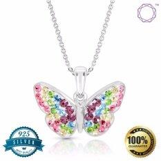 ซื้อ Bling Bijoux Jewelry จี้เงินรูปผีเสื้อ เงินแท้ 92 5 Silver 925 เครื่องประดับผู้หญิง Bling Bijoux Jewelry