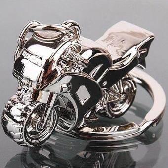 Bluelans®แฟชั่นผู้ชาย Cool จี้รูปรถจักรยานยนต์พวงกุญแจโลหะผสม - INTL-