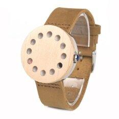 ทบทวน Bobo นก Wc12 12 หลุมออกแบบนาฬิกาไม้นาฬิกาข้อมือ Es ผู้ชายนาฬิกานาฬิกาข้อมือสุดหรูสำหรับผู้หญิงหนังแท้สายรัดเป็นของขวัญที่ดีที่สุด Z C10 C11 C11 12 C14 C15 Bobobird