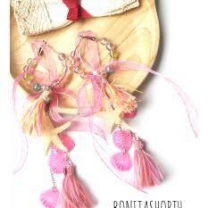 ขาย ซื้อ Bonita ต่างหูแฟชั่น ดาราเซเลป แบบพู่ รุ่น Earring 009 ใน กรุงเทพมหานคร