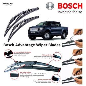 Bosch Advantage 1624 inch ใบปัดน้ำฝน บ๊อช Ford Ranger ขนาด 16 นิ้ว และ 24 นิ้ว