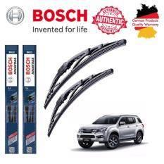ขาย ใบปัดน้ำฝน Bosch Advantage ขนาด 19 นิ้ว และ 21 นิ้ว สำหรับ Isuzu Mu X Year 13 ใหม่