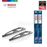 ราคา Bosch ใบปัดน้ำฝน Advantage ขนาด 21 นิ้ว และ 14 นิ้ว สำหรับ Nissan Almera Year 13 เป็นต้นฉบับ Bosch