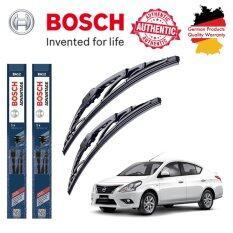 ซื้อ ใบปัดน้ำฝน Bosch Advantage ขนาด 21 นิ้ว และ 14 นิ้ว สำหรับ Nissan Almera Year 13 ใน Thailand