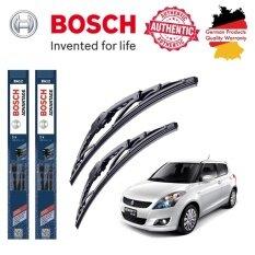 ขาย ใบปัดน้ำฝน Bosch Advantage ขนาด 22 นิ้ว และ 18 นิ้ว สำหรับ Suzuki Swift Year 12 Bosch เป็นต้นฉบับ